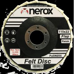 DISCO DE FIELTRO  ( NEROX )...